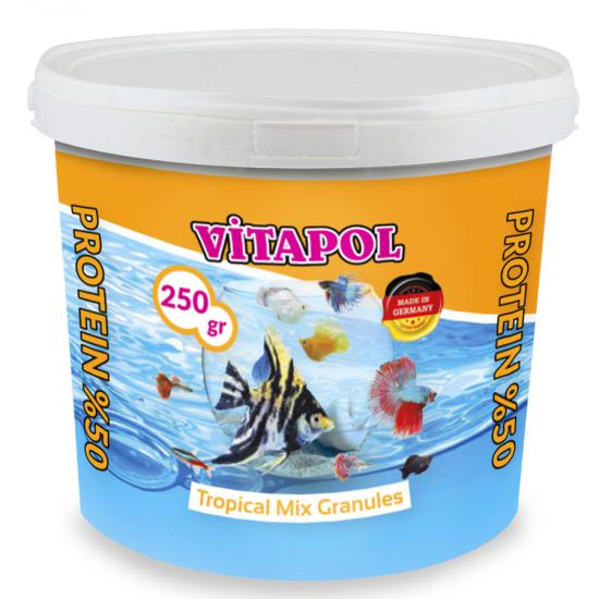 VİTAPOL TROPİCAL FİSH MİX BALIK YEMİ 250 gr